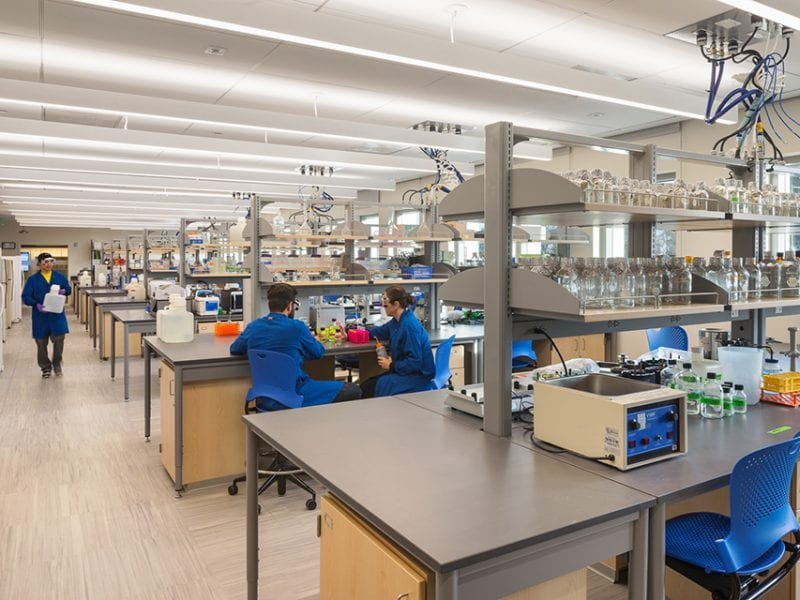 Whittier College Science & Learning Center - Labs