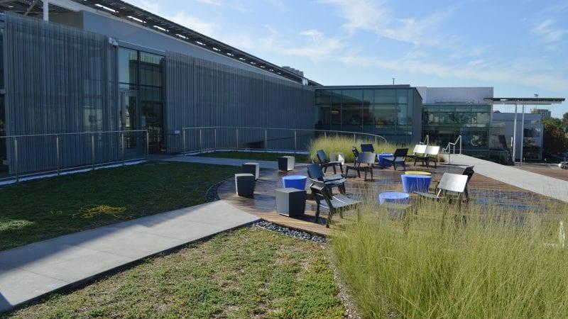 LMU Life Sciences Center - Exterior Garden