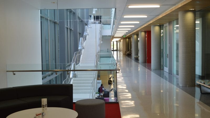 LMU Life Sciences Center - Stairway