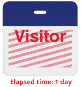 Best Practices for Corporate Security Policies and Procedures - Expired Visitor Badge